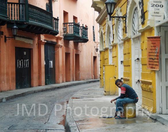 Sitting & Waiting - Cartagena, Colombia 2009