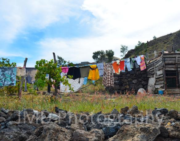 Laundry Day III - Fogo, Cape Verde 2012