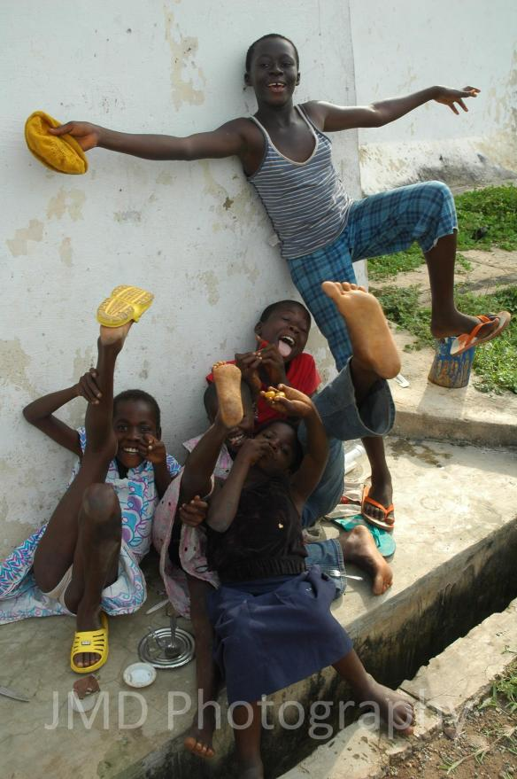 Kickin' It - Cape Coast, Ghana 2008
