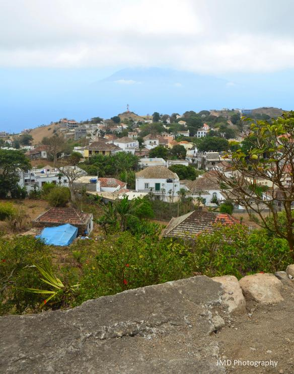 Brava With Fogo in Background - Brava, Cape Verde 2013