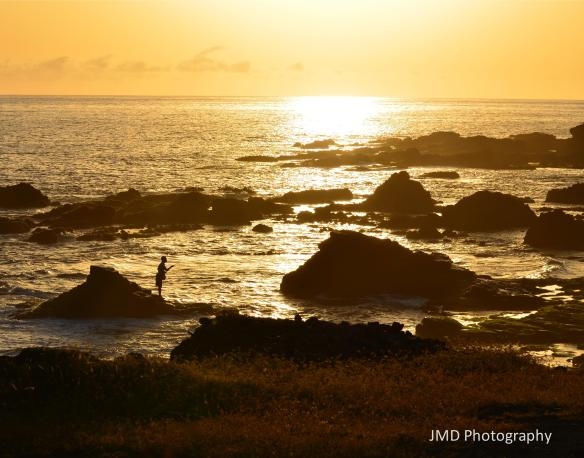 Lone Fisherman - Santiago, Cape Verde 2012