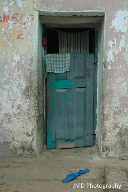 Blue Door - Sekondi, Ghana 2008