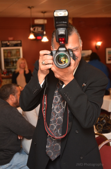 But what photography show and/or CV event would be complete without photographer Ronald Barboza?
