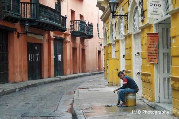 Sitting and Waiting - Cartagena, Colombia 2009